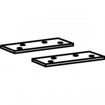 Пластины для установки корпуса Dorma ITS96 в металлическую дверь
