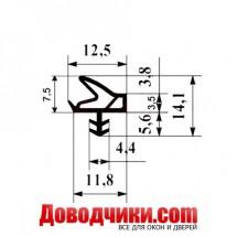 Уплотнитель двери 10575