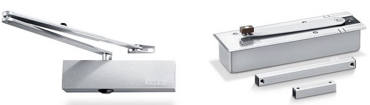 Доводчики Geze - немецкое качество доводчика двери Geze