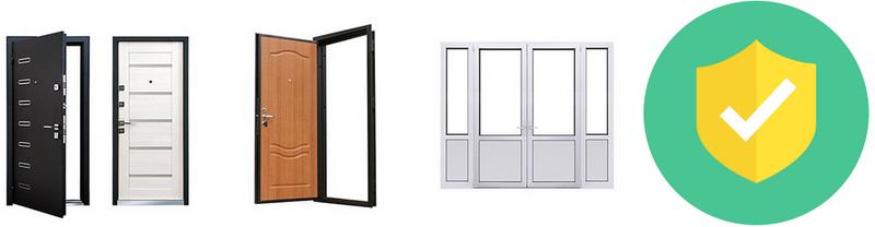 Замки для железных, деревянных, пластиковых дверей